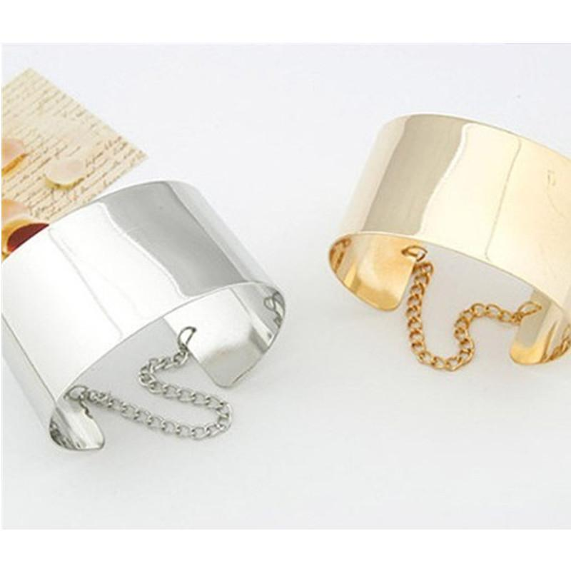 Cleopatra Gold Cuff Bangles herhershoes