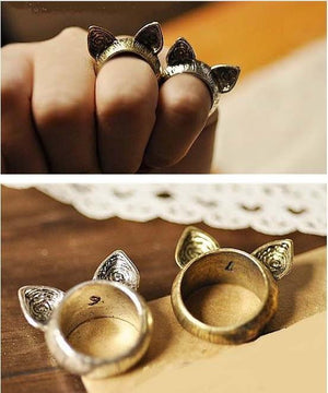 Cat Patronus Ring herhershoes