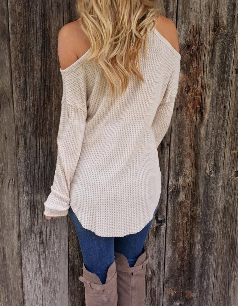 Isla - V-Neck Sweater herhershoes