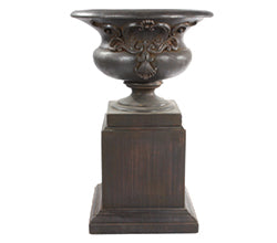 St Michele Urn With Pedestal