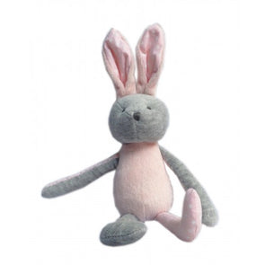 Rabbit Soft Toy Pink/Grey