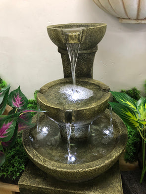 Toscana Water Feature with LED