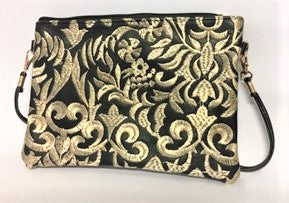 Shoulder Bag/ Clutch Embroidery Detail