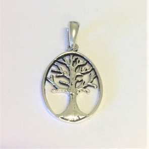 Oval Tree of Life 3cm Pendant Only