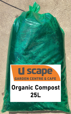 Uscape's Certified Organic Compost 25L