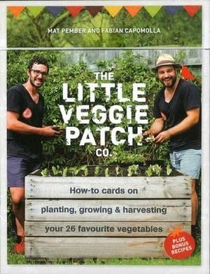 The Little Veggie Patch Co Box of How To Cards - Stock Available in Store!