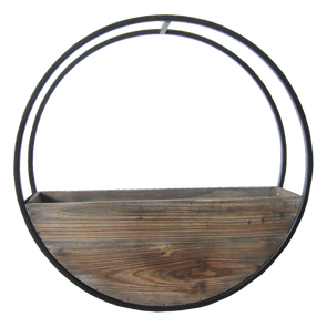 Wall Planter Full Circle Wooden