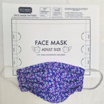 Adult Face Mask Sewing Pattern