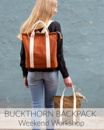 Buckthorn Backpack // 2 Days // Nov 21 & 22