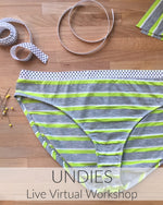 Undies Live Virtual Workshop // Oct 25