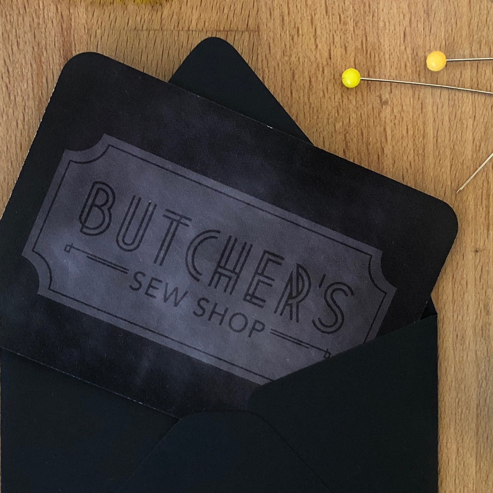 Butcher's Gift Card