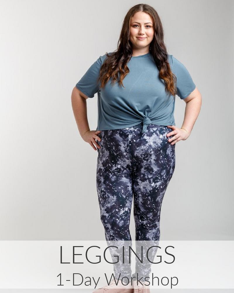 Sewing Knits: Leggings // 1 Day // Jan 23