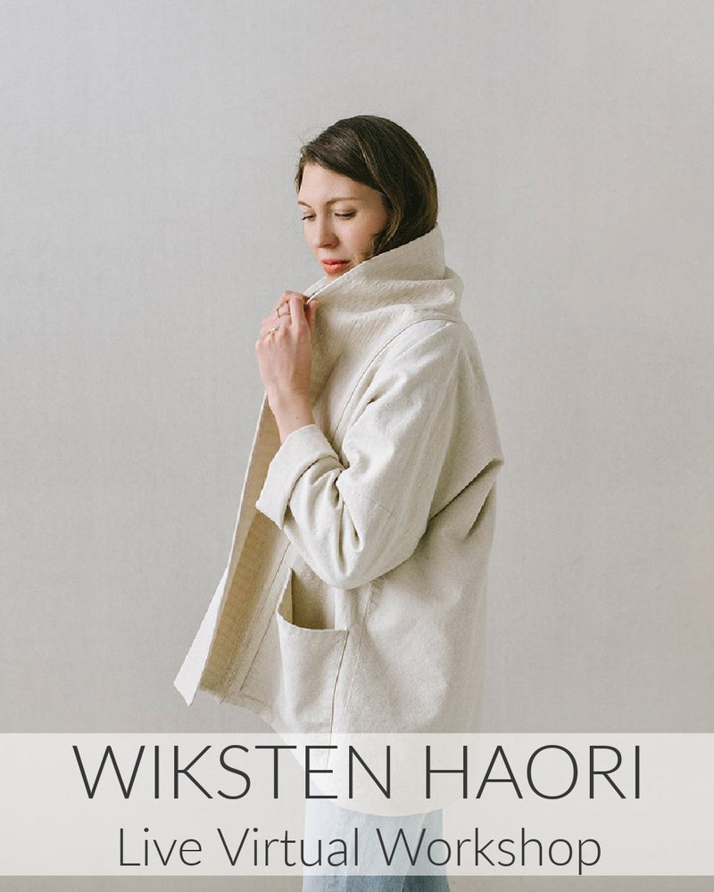 Wiksten Haori Live Virtual Workshop // 3 sessions // Starts Jan 10