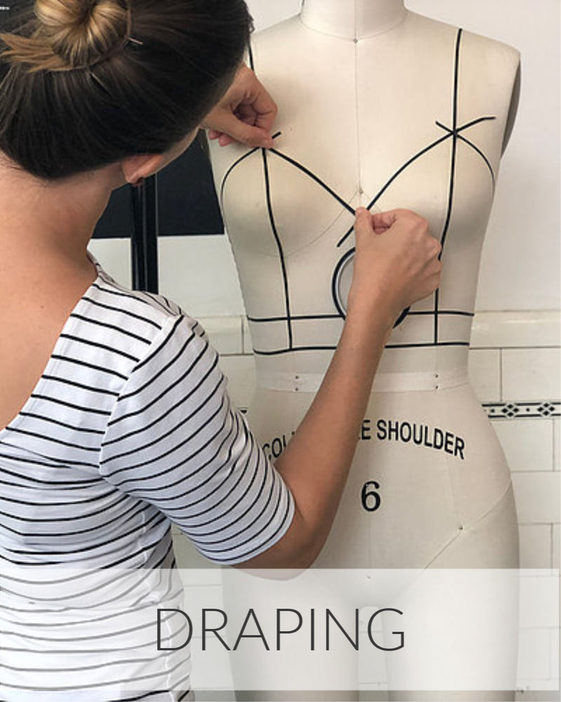Draping // 8 Weeks // Starts May 31