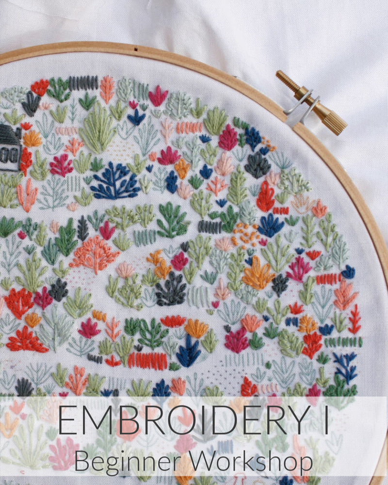 Embroidery I // 1 Day // Feb 15