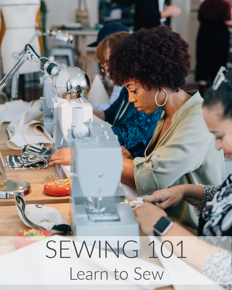 Live Virtual Sewing 101 // 2 Weeks // Starts March 13