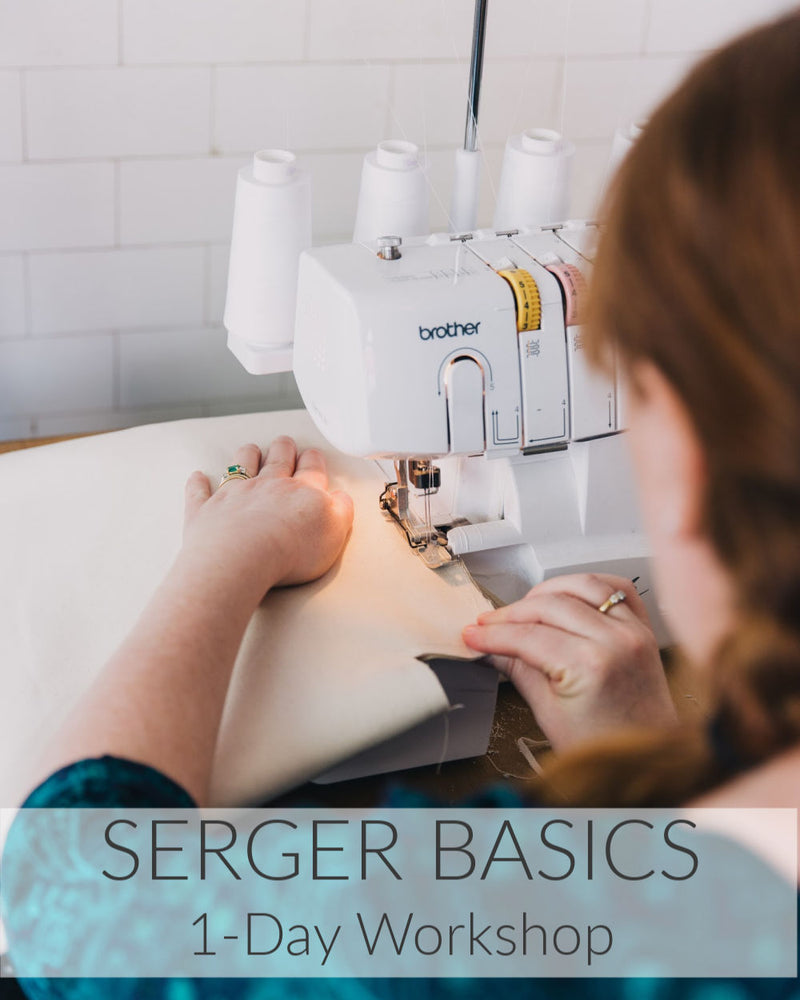 Serger Basics // 1 Day // April 25