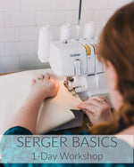 Serger Basics // 1 Day // May 31