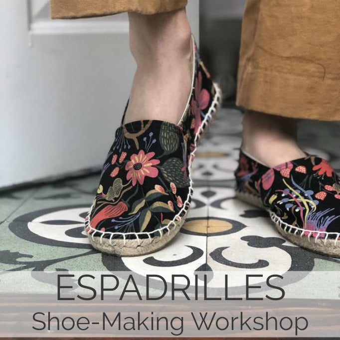 Espadrilles // 1 Day // Aug 17