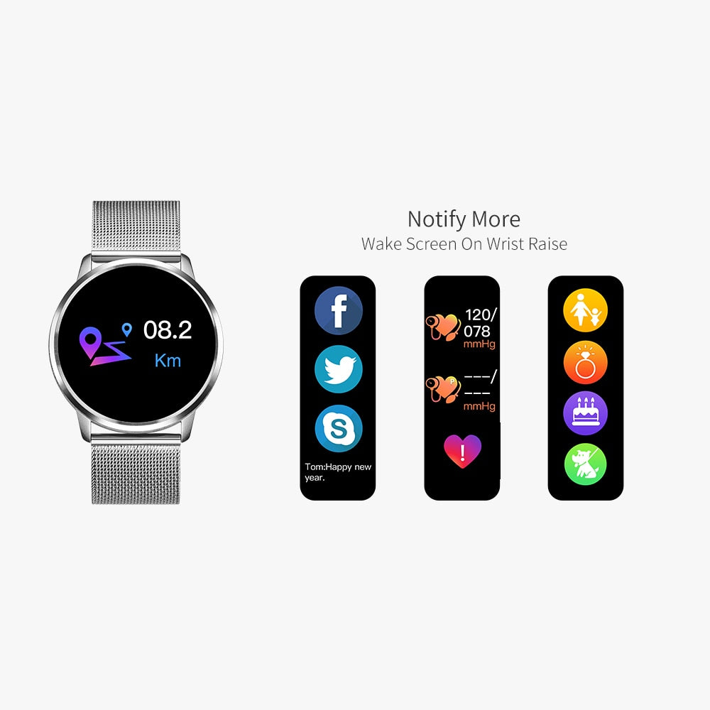 IRON 7 SMARTWATCH FOR APPLE AND ANDROID DEVICE