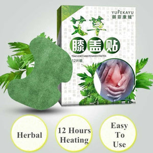 Japanese Knee Herbs Sticker - Remove Pain 12pcs