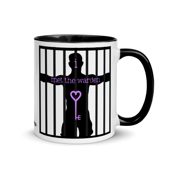 Warden Mug with Color Inside