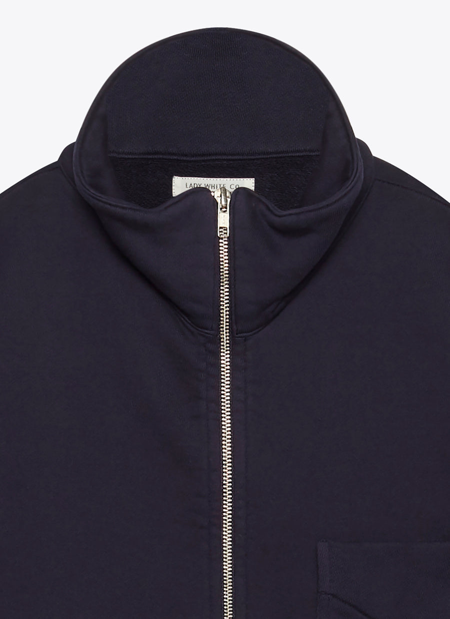 Lady White Co Full Zip Jacket - Navy - The Great Divide