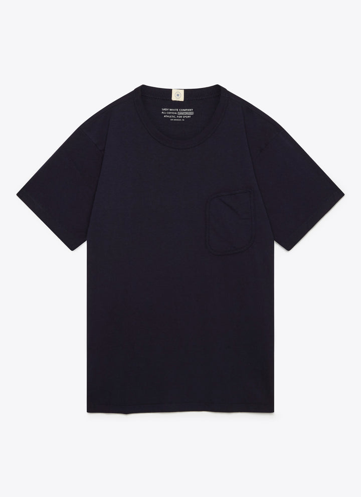 Lady White Co. Clark Pocket T - Navy - The Great Divide