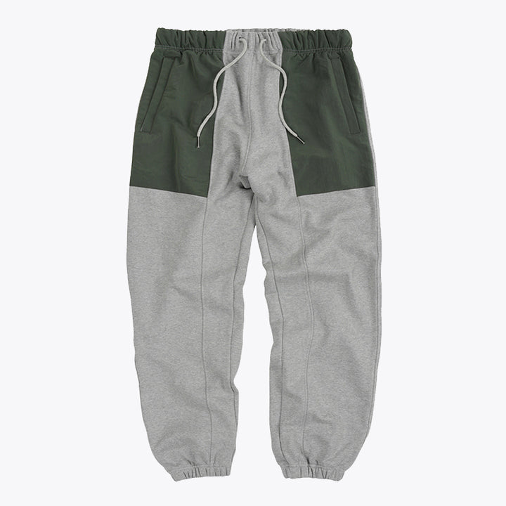 Nylon Ripstop Sweatpants - Gray