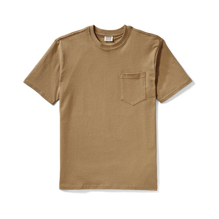Filson Outfitter Solid Pocket T-Shirt - Tan