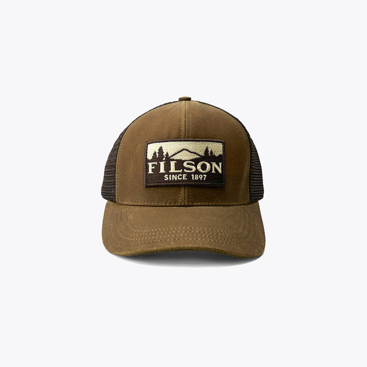 Filson Logger Mesh Cap - Dark Tan - The Great Divide
