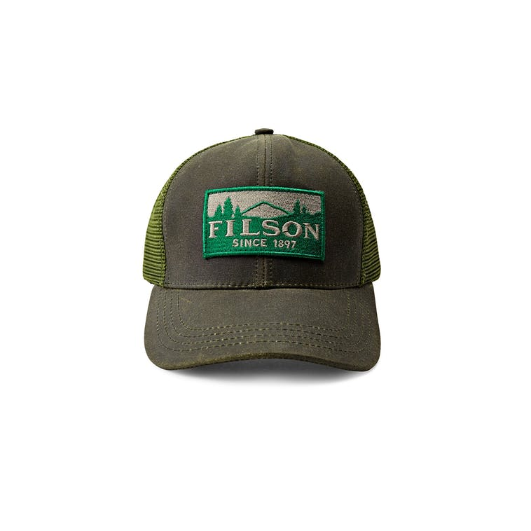 Filson Logger Mesh Cap - Otter Green - The Great Divide