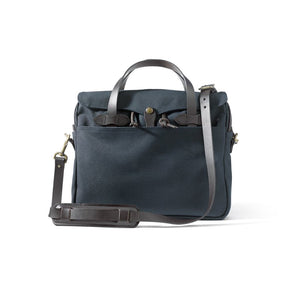 Filson Rugged Twill Original Briefcase - Navy - The Great Divide