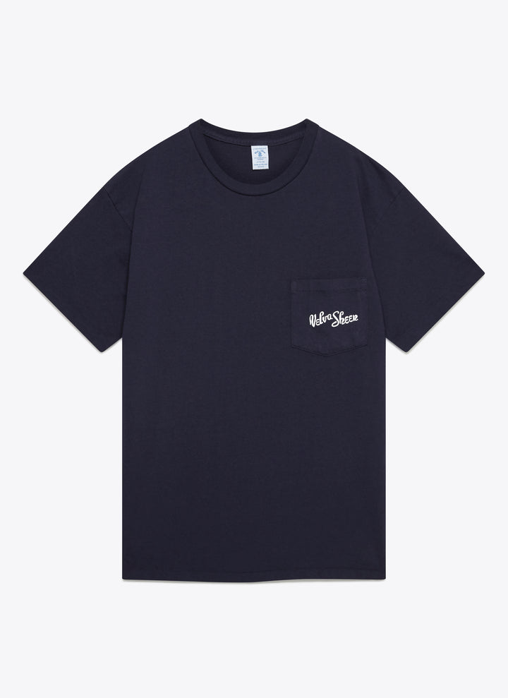 1 Pac Logo Pocket Tee - Navy