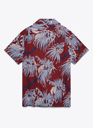 Polulu Camp Shirt - Oxblood Red