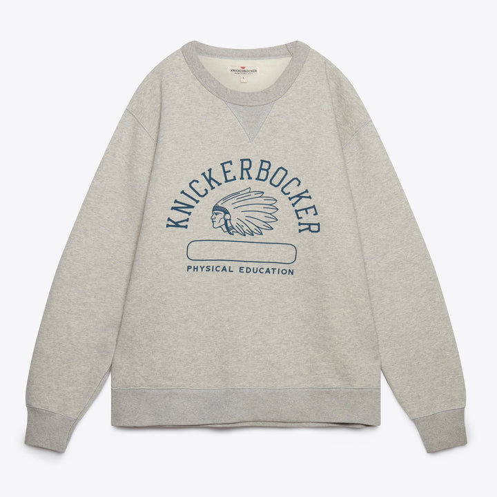 Phys. Ed Crew Neck Fleece - Grey