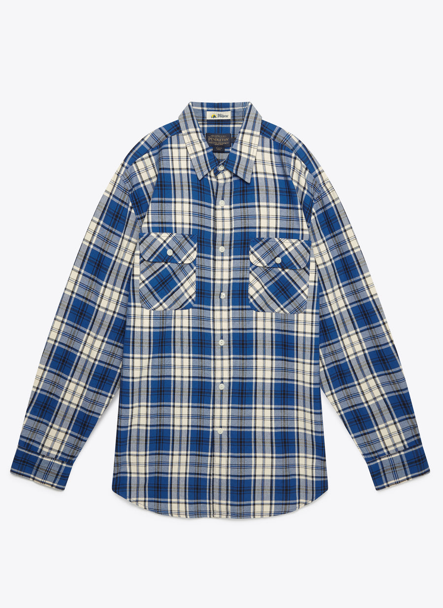 Beach Shack Twill Shirt - Ocean Sands Plaid