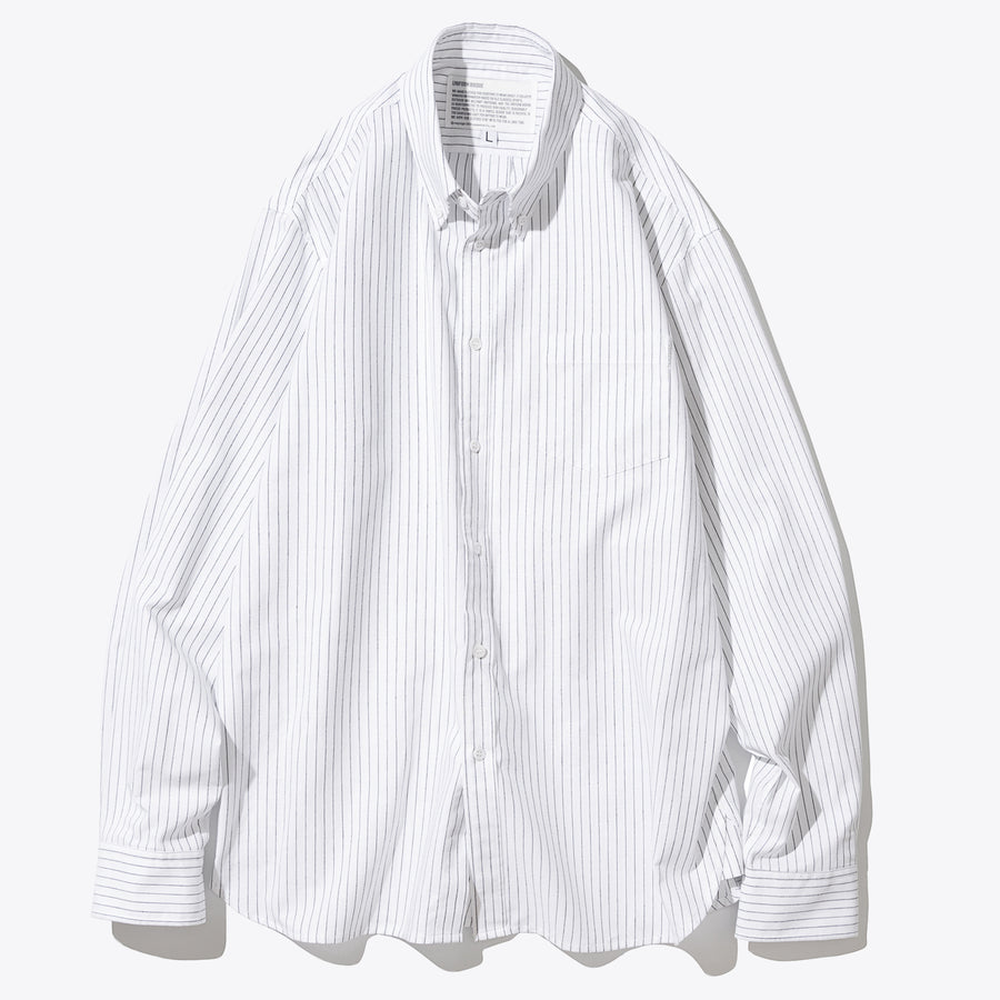 Stripe Pocket Shirt - White
