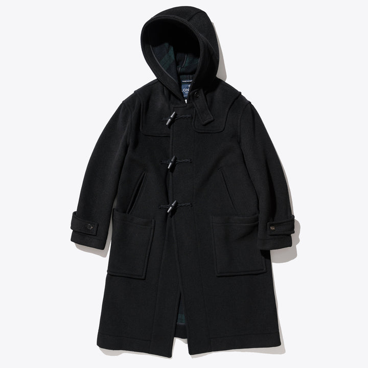 London Tradition Duffle Coat - Black