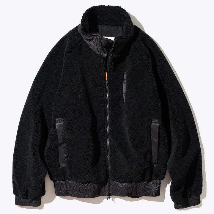 3Pocket Fleece Jacket - Black