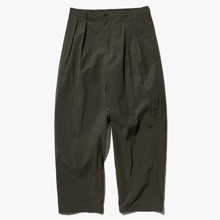 Comfort Two Tuck Pants - Olive