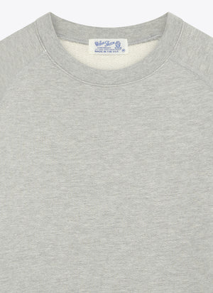 Short Sleeve Freedom Sweat - Grey Melange