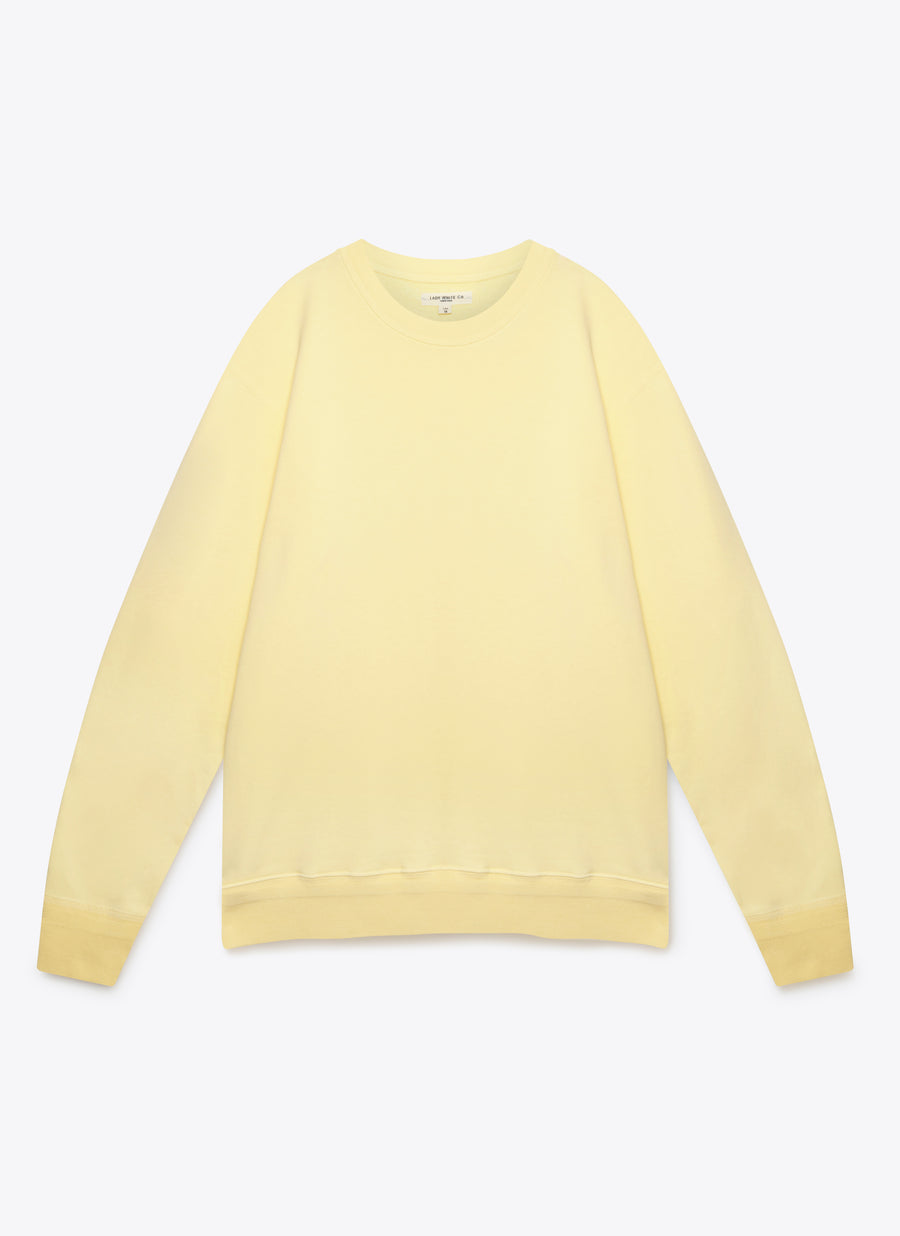 '44 Fleece - Pale Yellow