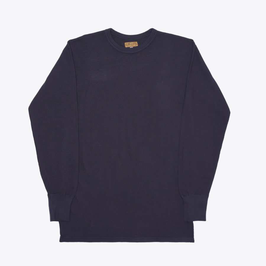 Made in Japan Crew Neck Thermal - Navy