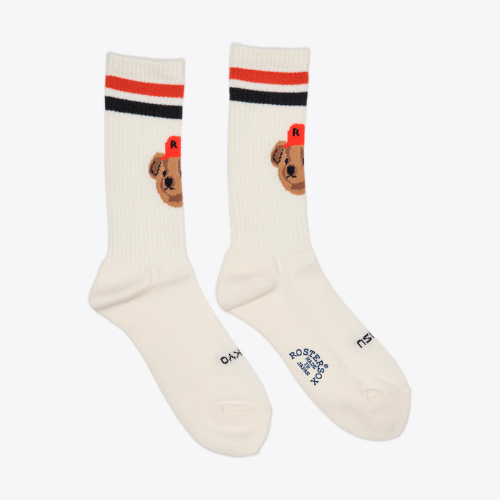 Team Bear Sock - Orange