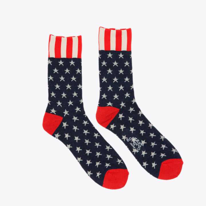 US PT Sock - White Line
