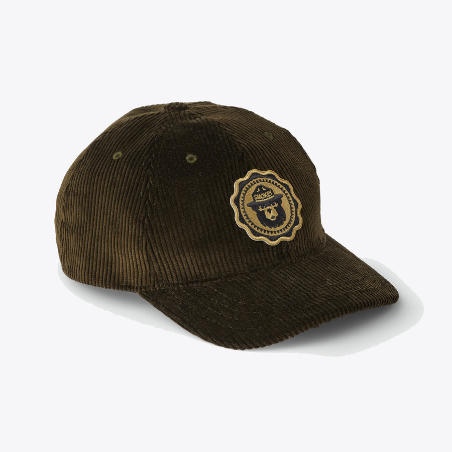 Smokey Bear Low Profile Cap - Dark Olive