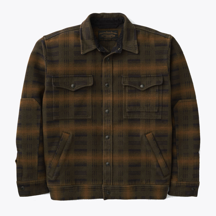 Beartooth Camp Jacket - Black / Olive / Brown