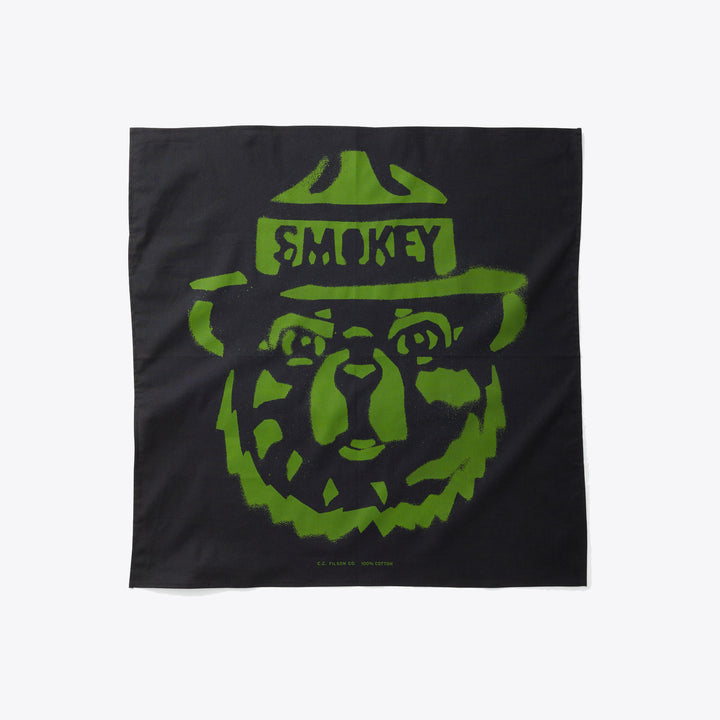 SMOKEY BEAR BANDANA - MIDNIGHT