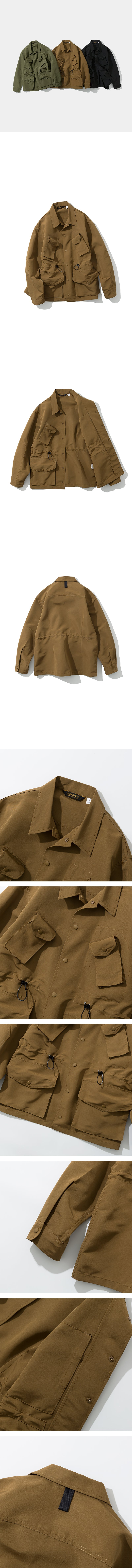 Canadian Combat Coat - Brown